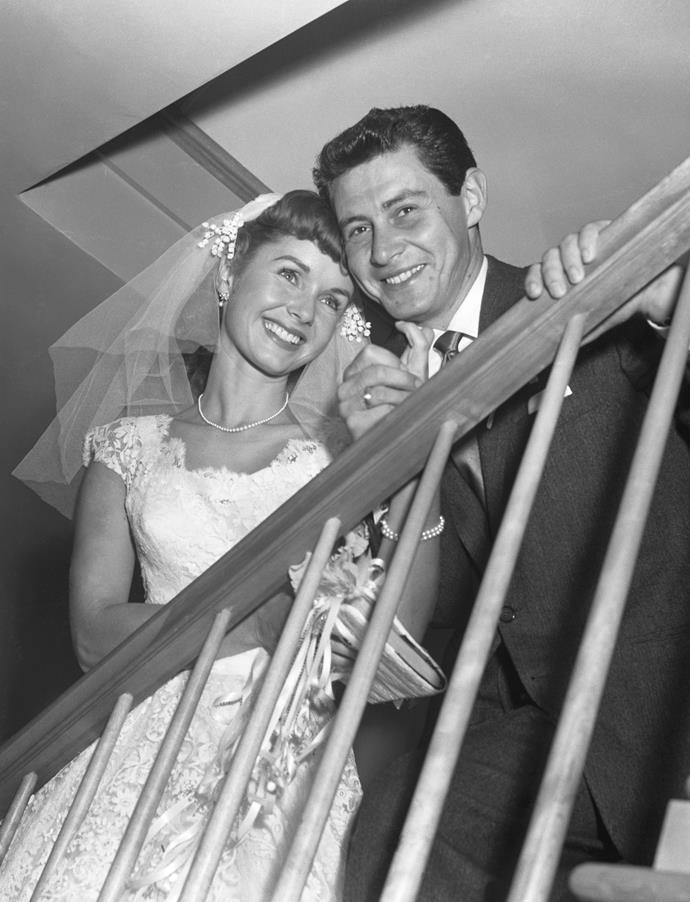 Eddie Fisher and Debbie Reynolds' eventually spilt when Eddie married her best friend.