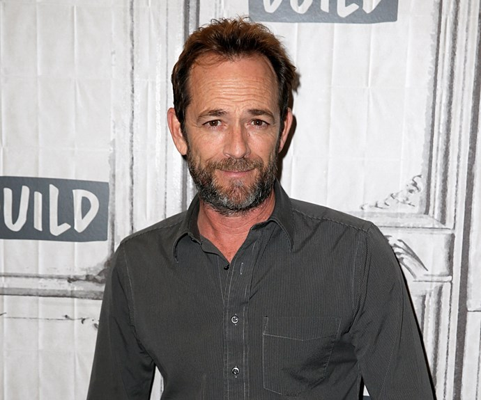 Luke Perry has tragically passed away surrounded by friends and family. *(Image: Getty)*
