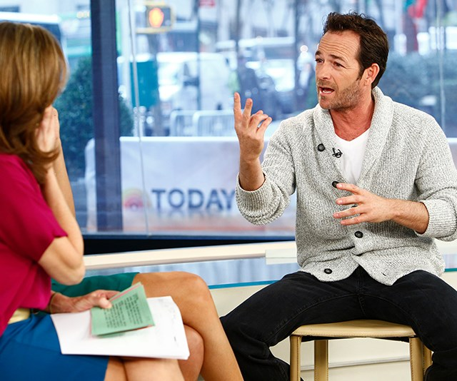 His animated personality landed him plenty of gigs on television talk shows. Here, he was pictured during a 2013 *Today Show* interview. *(Image: Getty)*