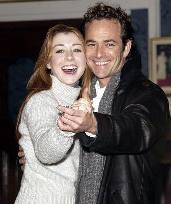 After experiencing huge success on *90210*, Luke tried his hand in theatre, tackling London's West End in an on-stage adaptation of *When Harry Met Sally* alongside actress Alyson Hannigan. *(Image: Getty)*