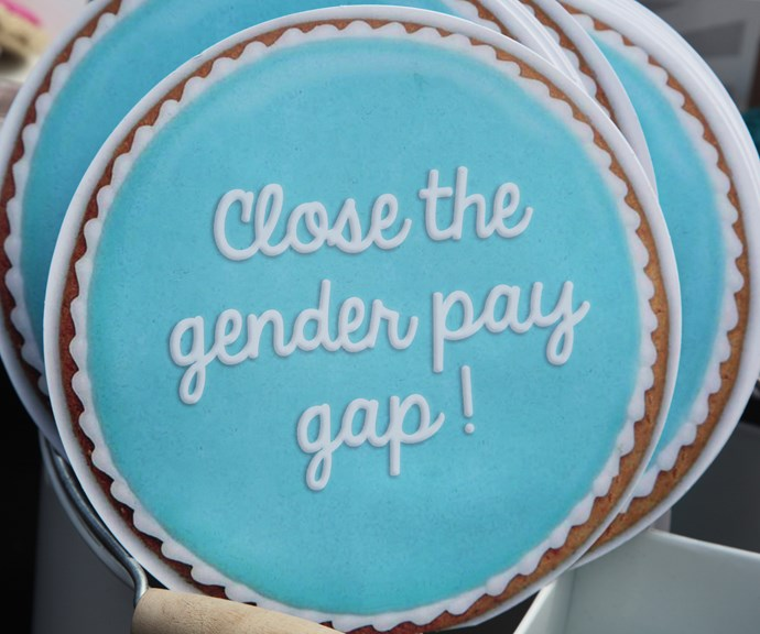 """""""Women are not equally represented in the workforce to begin with *and* they're earning lower rates than men."""" *(Image: Getty)*"""