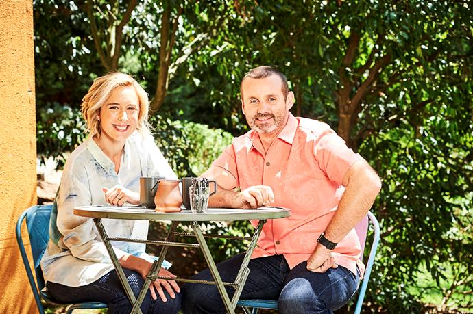 Eve Morey and Ryan Moloney have been on-screen together for almost a decade.