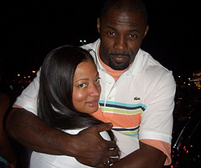 Idris Elba and second wife, Sonya Hamlin. *Image: Sonya Hamlin*