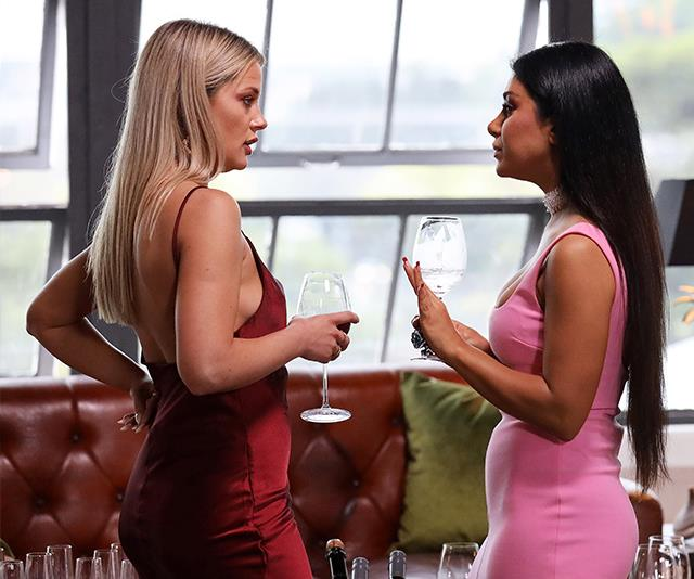 Martha and Jessika have formed a close bond on the show. *(Image: Channel Nine)*