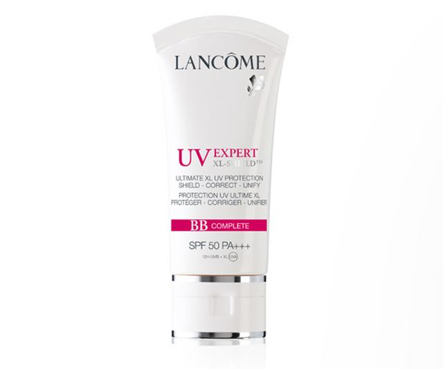 Wear alone for a light look or pair with makeup. *(Image: Lancôme)*