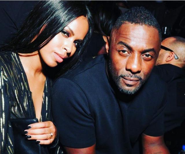 Idris Elba and fiancé, Sabrina Dhowre. *Image: Instagram/IdrisElba*