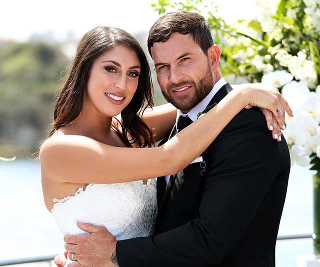 Another switcheroo: Dan is now shacked up with *MAFS* bride Jess. *(Image: Channel Nine)*