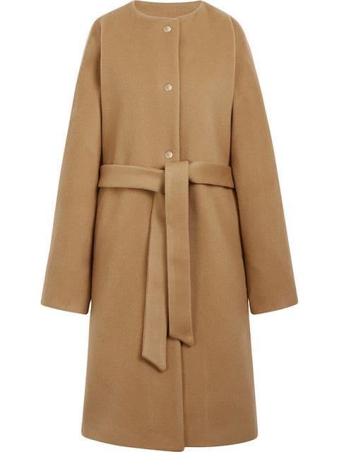"Mackintosh wool and cashmere belted coat, $596, available from [Farfetch](https://www.farfetch.com/au/shopping/women/mackintosh-beige-wool-cashmere-belted-coat-lm-085f-item-13044682.aspx?storeid=10658|target=""_blank""