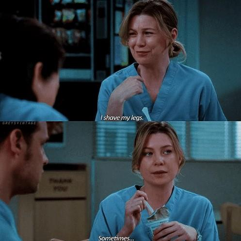 Us too Meredith. *(Image: AWW Memes)*