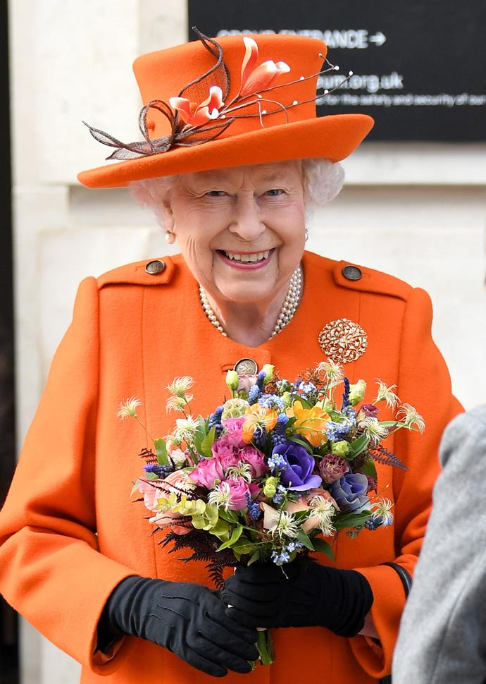 The Queen learned about coding at the science museum. *(Image: Getty)*