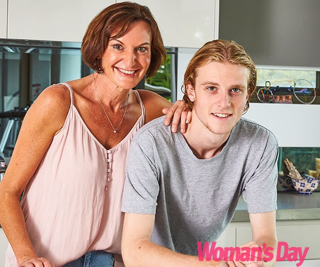 """My mother is the most extraordinary person!"" Jackson tells us. *(Image: Exclusive to Woman's Day/Phillip Castleton)*"