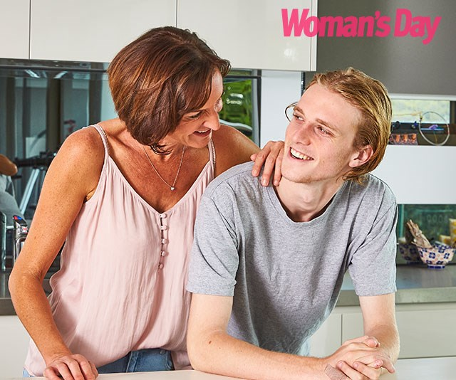 The mother and son share an unbreakable bond. *(Image: Exclusive to Woman's Day/Phillip Castleton)*