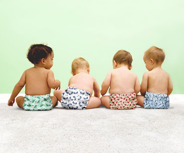 """*Bambino Mio reusable nappies:* The concealed super absorbent core and stay-dry inner layer keep moisture away from your baby's delicate skin, leaving it cool and dry with these eco-friendly reusable nappies. With a stretchy water resistant outer fabric for even the most active babies. *[Image: Bambino Mio.](https://www.bambinomio.com/au
