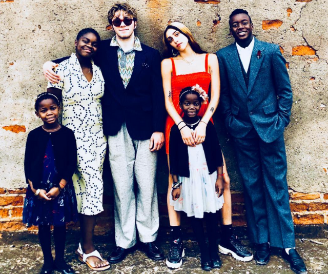 Madonna's six children, Stella, Mercy James, Rocco, Lourdes, Esther and David Banda. *(Image: Instagram @Madonna)*