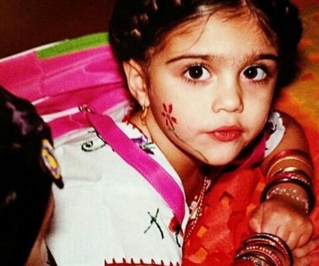Little Lourdes looks so much like her mum. *(Image: Instagram @Madonna)*