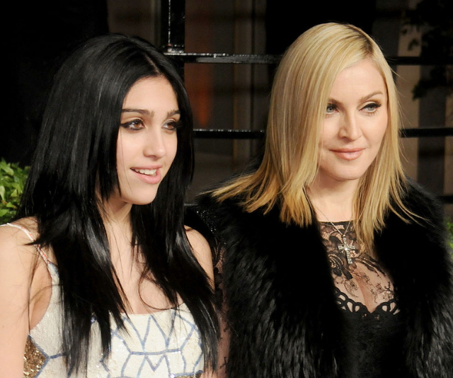 Lourdes and Madonna. *(Image: Getty Images)*