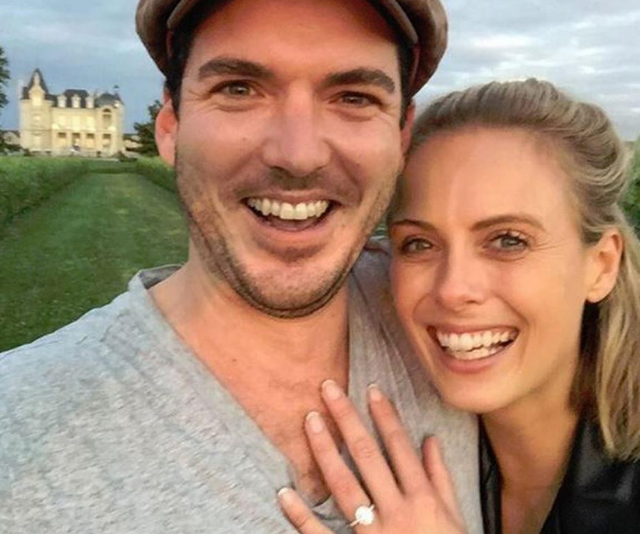 """I asked my missus to be my wife and she said yes!"" *Image: Instagram/PeterStefanovic.*"