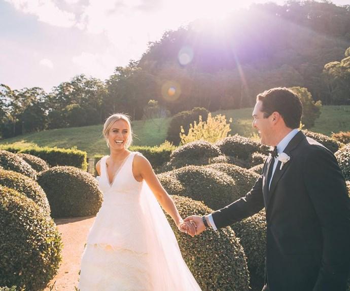 A fairytale wedding! *Image/Daniel Griffith Photography.*