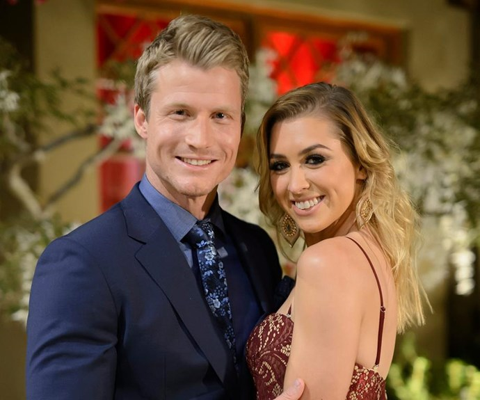 Richie and Alex had a relatively short-lived romance following their stint on *The Bachelor*. *(Image: Network Ten)*