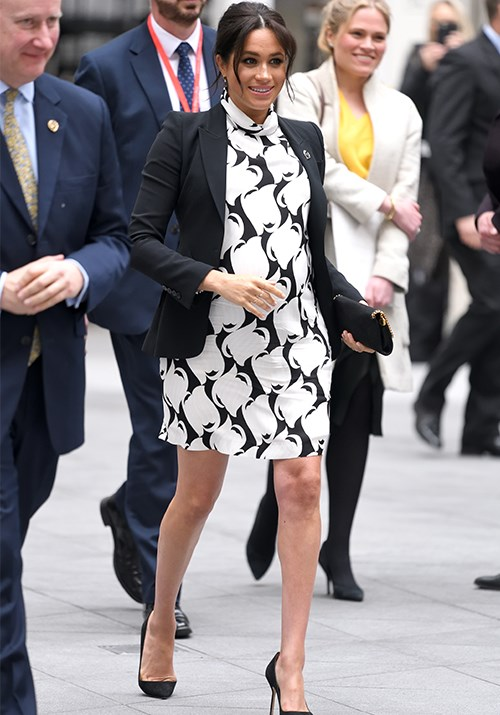 A passionate advocate for women's rights, Meghan couldn't have been better suited to join a panel of inspiring women for the Queen's Commonwealth Trust event on International Women's Day. The event on March 8 was also attended by former Australian Prime Minister, Julia Gillard. *(Image: Getty Images)*
