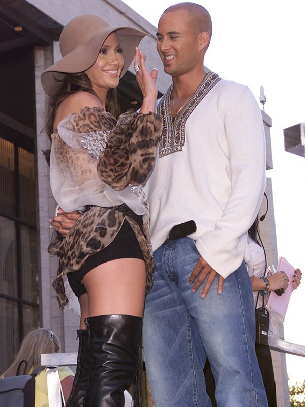Soon after Diddy, Jennifer fell for Chris Judd, a back-up dancer in her music video *Love Don't Cost A Thing*. They tied the knot in 2001 but after nine short months, the couple split. *(Image: Getty Images)*