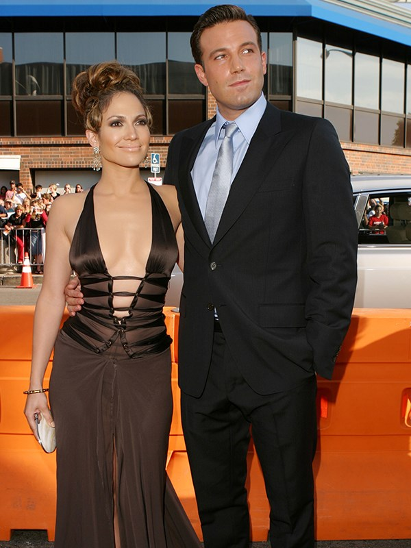 They may have made one of the least critically acclaimed movies ever with *Gigli*, but Bennifer were the ultimate power couple of the early noughties. Jen's new man Ben Affleck even starred in her *Jenny From The Block* music video. *(Image: Getty Images)*