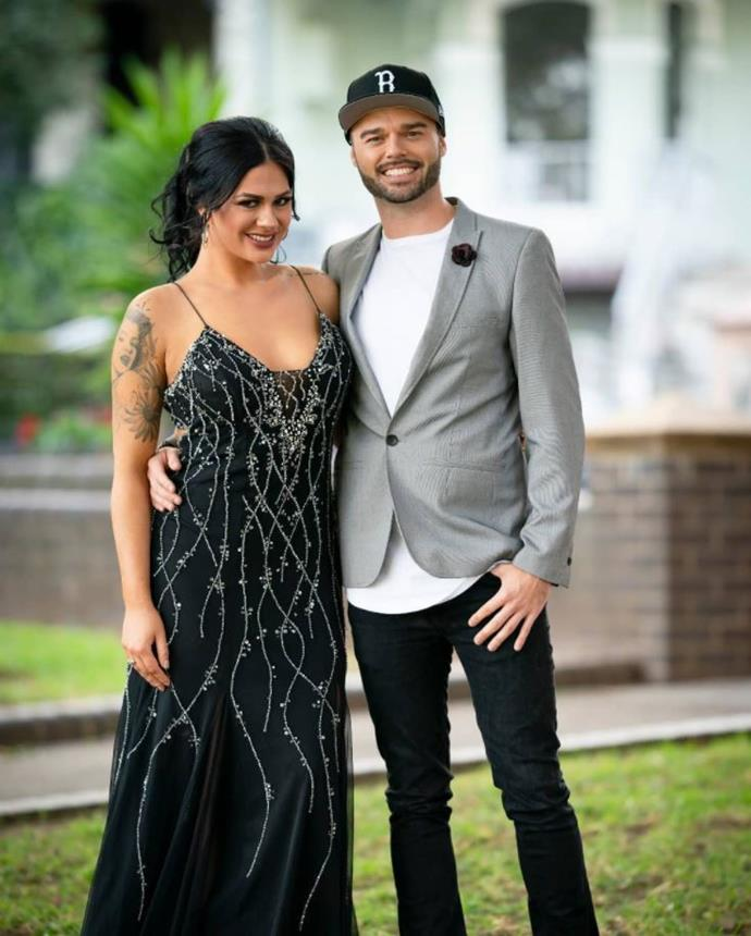 Amanda starred on *MKR* with her brother Blake. *(Image: Channel Seven)*