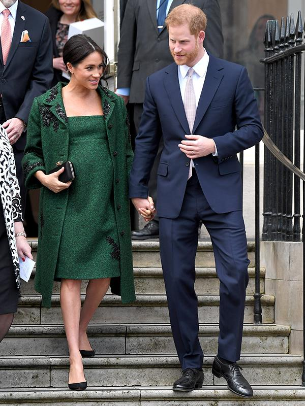 The Duke and Duchess of Sussex had a busy day with their Commonwealth duties. *(Image: Getty Images)*