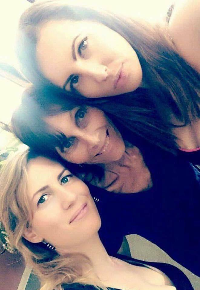 Valeska with mum Ariane and sister Melissa. *(Image: Supplied)*