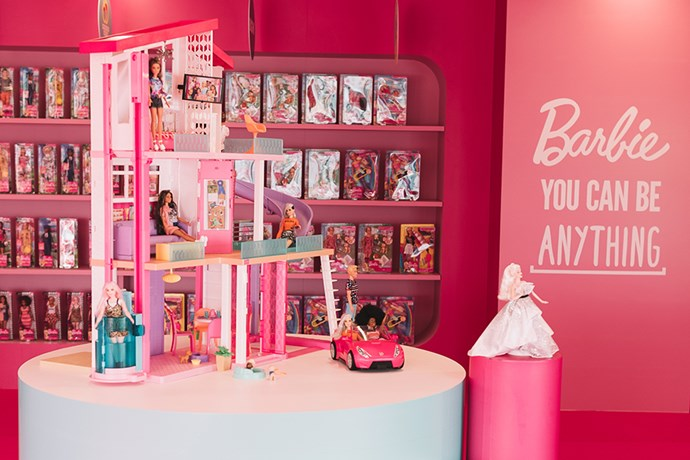 Inside the Barbie Dream house space