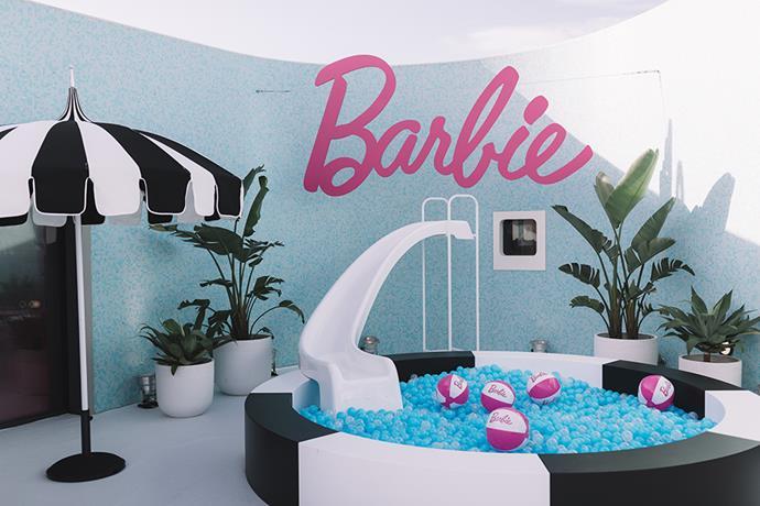 Inside the Barbie Dream house space