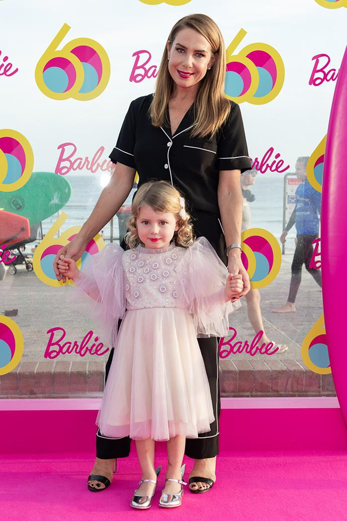 Kate Ritchie and daughter Mae
