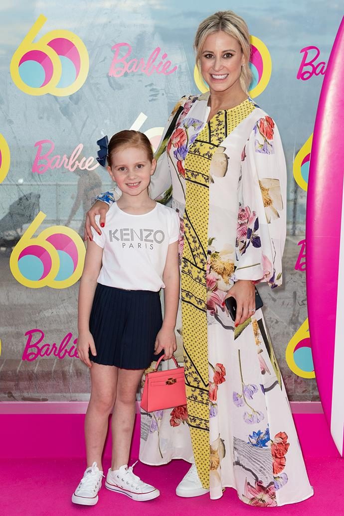 Roxy Jacenko and daughter Pixie Curtis