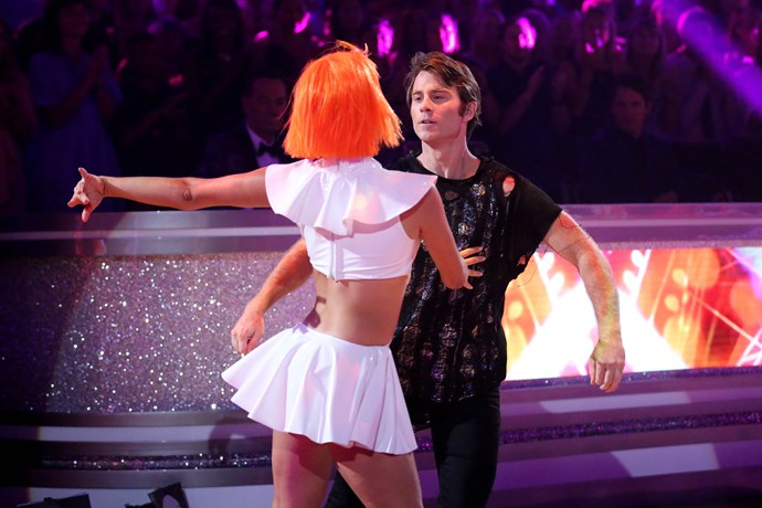 Jimmy is Dancing With The Stars' dark horse.