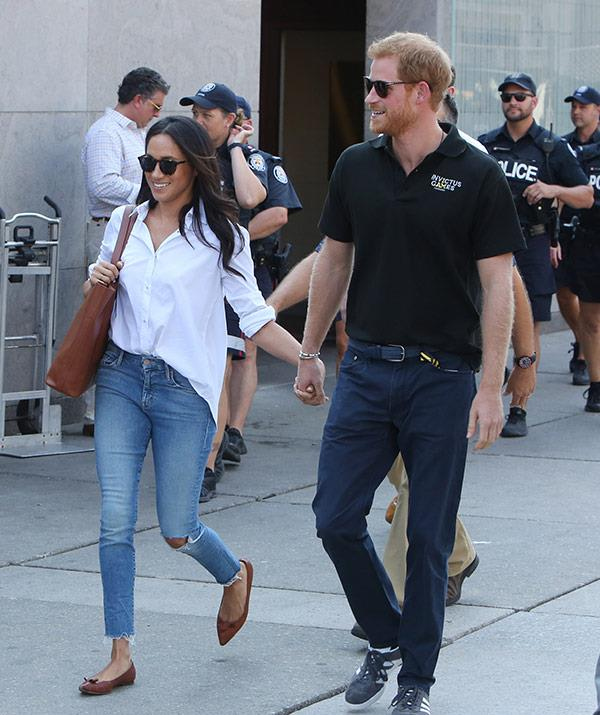 "**September 2017: Meghan and Harry go public** <br><br> Finally and at long last, Harry and Meghan went [completely public](https://www.nowtolove.com.au/royals/british-royal-family/prince-harry-and-meghan-markle-at-the-invictus-games-41210|target=""_blank"") with their relationship when they were snapped happily together at the 2017 Invictus Games. *(Image: Getty)*"