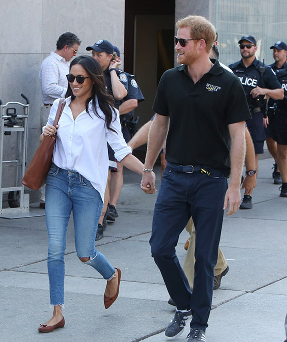 "**September 2017: Meghan declares her love for Harry in a candid interview** <br><br> By September it was clear that things were very, very serious for the smitten couple. [In a candid interview with *Vanity Fair* magazine](https://www.nowtolove.co.nz/celebrity/royals/meghan-markle-vanity-fair-cover-and-interview-on-prince-harry-34149|target=""_blank""), in which Meghan was also the cover star, the *Suits* actress opened up for the first time about her royal romance.  <br><br> Talking about her relationship with Harry she said: ""I can tell you that at the end of the day I think it's really simple... We're two people who are really happy and in love. We were very quietly dating for about six months before it became news, and I was working during that whole time, and the only thing that changed was people's perception. <br><br> ""Nothing about me changed. I'm still the same person that I am, and I've never defined myself by my relationship."" <br><br> That same month the couple were happily snapped attending the Invictus Games in Toronto.  <br><br> *(Image: Getty)*"