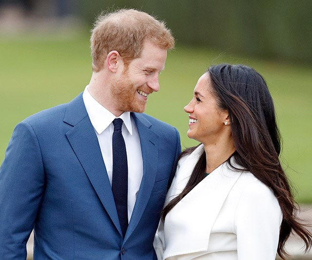 **November 2017: The engagement announcement**  <br><br> And then it happened. The engagement announcement that swept the world and our hearts in one collective breath. Their photo call at the The Sunken Gardens in Kensington Palace was all the proof we needed that this couple are for keeps. *(Image: Getty)*