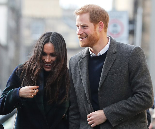 **Early 2018: Meghan and Harry tackle royal walkabouts together** <br><br> As a royal, a public walkabout is part and parcel - and over the first few months of 2018, Meghan became well-acquainted with them as she and Harry made several official appearances across Britain. *(Image: Getty)*