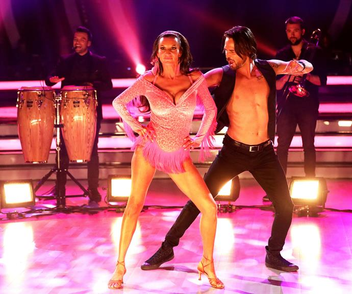 Cass and Marco on Latin night. *(Image: Channel 10)*