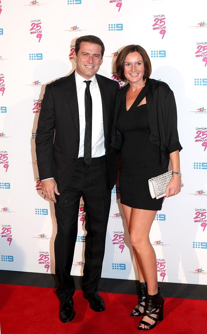 Karl Stefanovic and Cass Thorburn were married for 21 years. *(Image: Getty)*