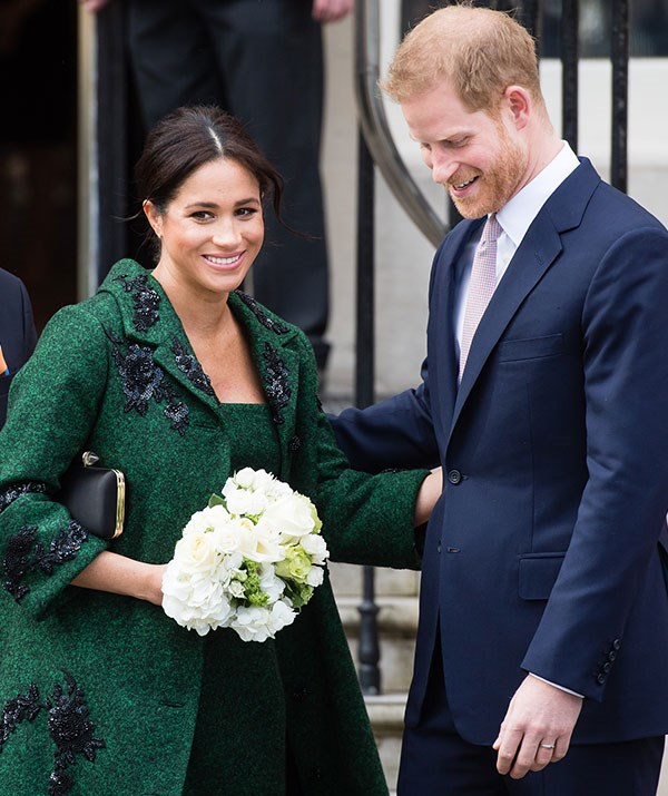 It was a full circle moment for Meghan, who has close ties with Canada. *(Image: Getty)*