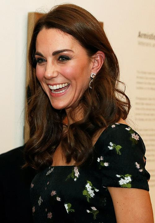What big day? Kate looked radiant as ever as she mingled with guests at the event. *(Image: Getty)*