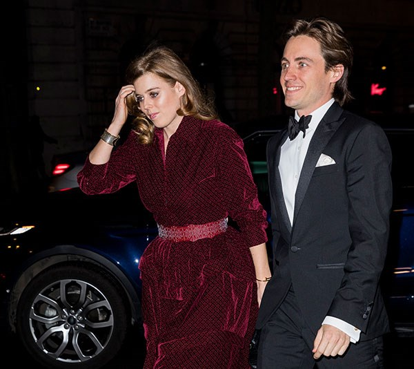 It's getting serious! This marks the first official event for the new couple. *(Image: Getty)*