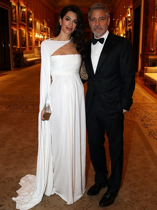 Talk about Hollywood glamour: George and Amal Clooney were the guests of honour at Prince Charles' Buckingham Palace dinner.