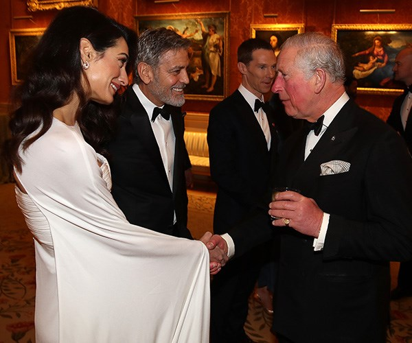 The pair seemed to hit it off with Prince Charles straight away.