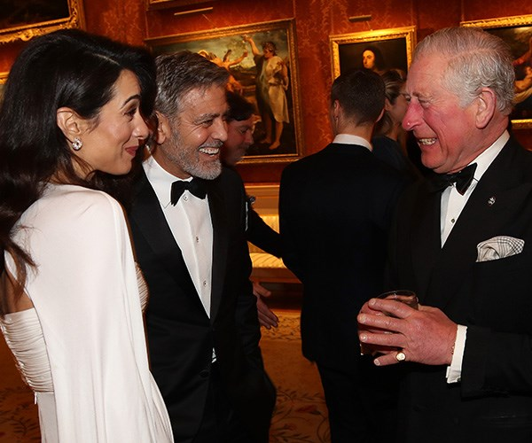 And the couple even had the future King of England in stitches!