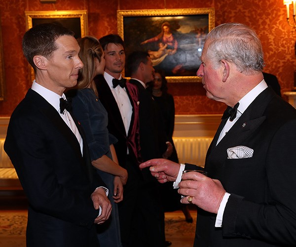 *Sherlock* star Benedict Cumberbatch actor is one of the Prince's Trust's international ambassadors.