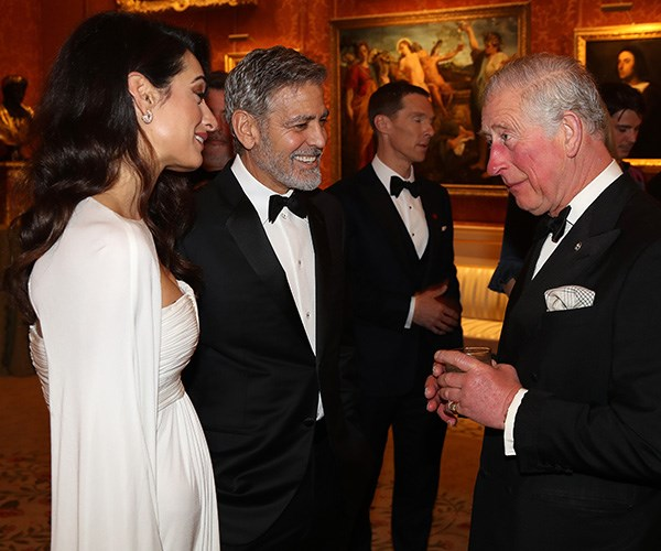 """The Clooneys have a close bond with Prince Charles' son and daughter-in-law, the Duke and Duchess of Sussex. Amal was even a co-host for [Duchess Meghan's baby shower in New York last month.](https://www.nowtolove.com.au/royals/british-royal-family/meghan-markle-baby-shower-guests-54253 target=""""_blank"""")"""