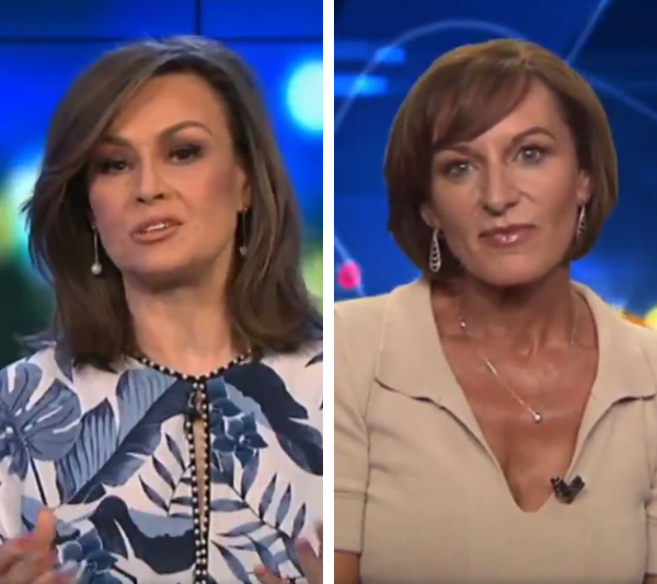 Lisa Wilkinson interviewed Cass Thorburn on The Project on Tuesday night. *(Image: Channel 10)*