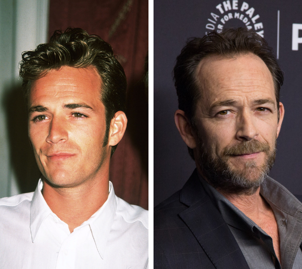 Luke Perry was just 52 years old when he died. *(Image: Getty)*